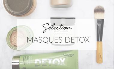 Masques detox bio